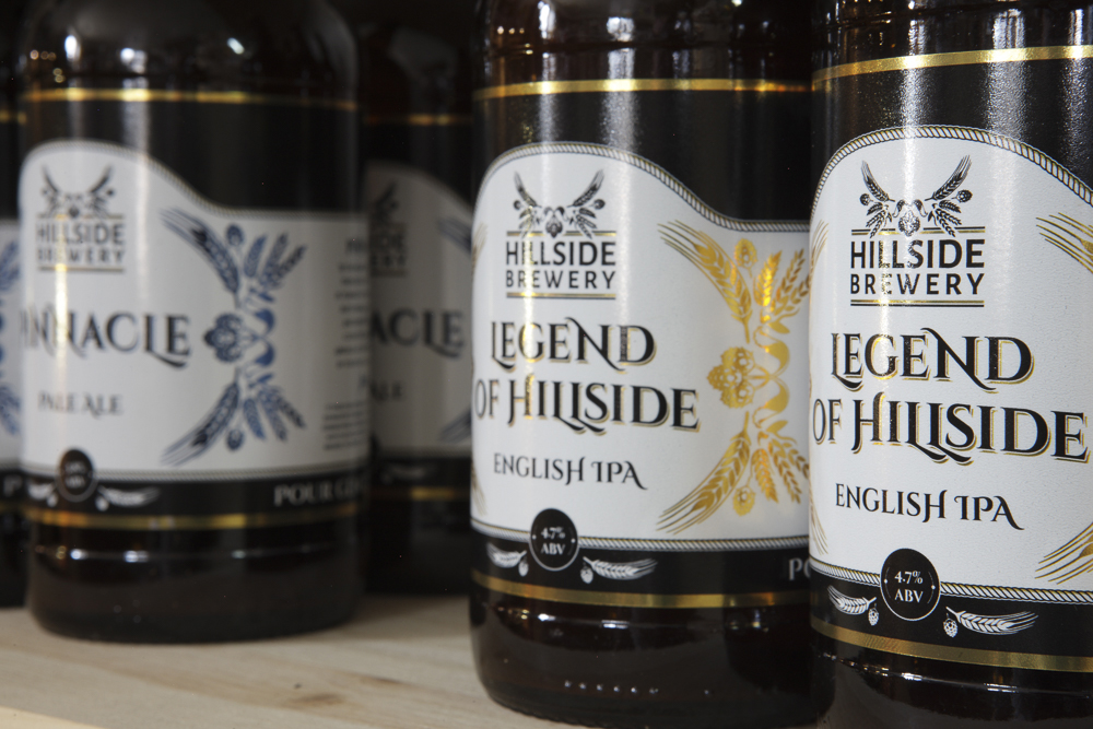 Make sure you sample some of Hillside Brewery's excellent artisan ales in 2015!